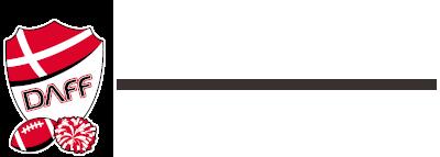 Dansk Amerikansk Fodbold Forbund (DAFF) logo